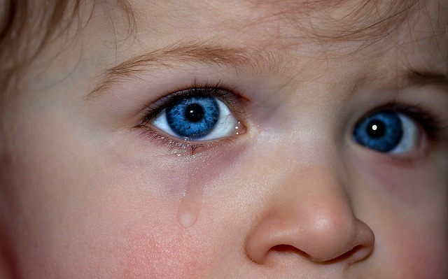 Is it ok to cry in front of your kids?