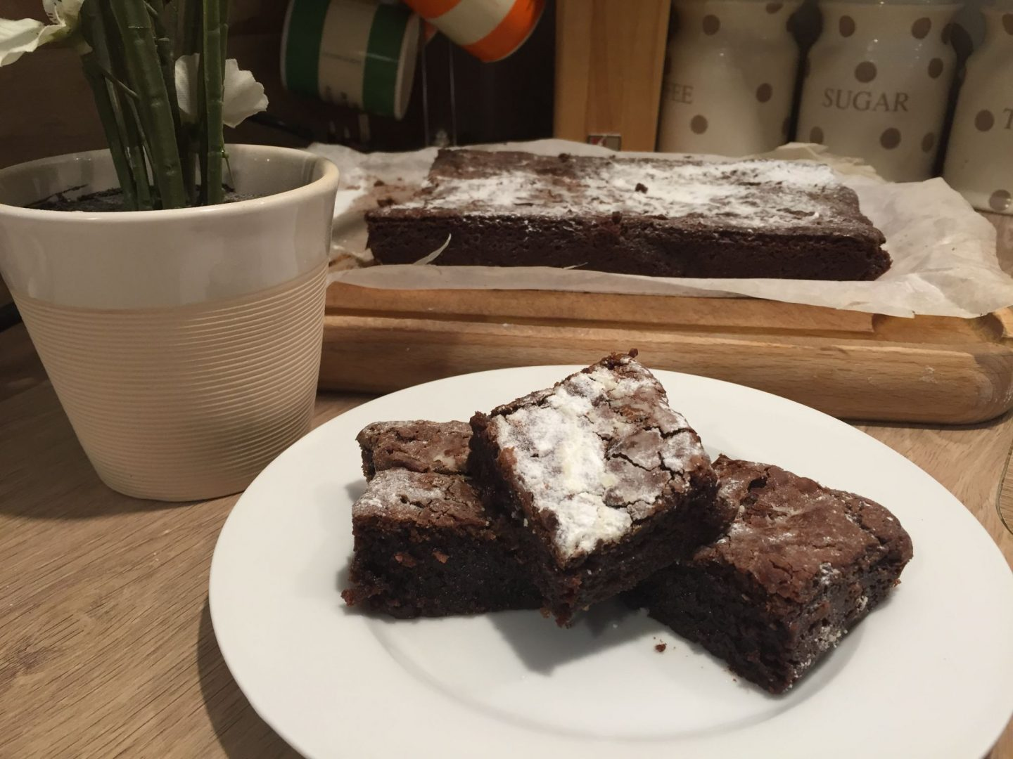Recipe: Jamie Oliver's Bloomin Brilliant…ly (gooey) Chocolate Brownies